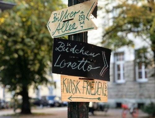 Düsseldorf-Unterbilk: Das Lorettoviertel